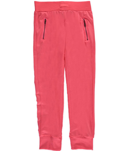 "Joyce Concept Big Girls' ""Zip Pockets"" Joggers (Sizes 7 – 16) - CookiesKids.com"