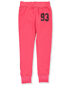 "Joyce Concept Big Girls' ""Number 93"" Joggers (Sizes 7 – 16) - CookiesKids.com"