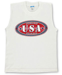 "Pacific Big Boys' ""American Original"" Sleeveless T-Shirt (Sizes 8 – 20) - CookiesKids.com"