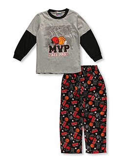 "USAthlete Little Boys' ""MVP All-Pro"" 2-Piece Pajamas (Sizes 4 – 7) - CookiesKids.com"