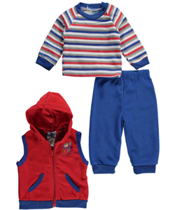 "Precious Moments Baby Boys' ""Sports Camp"" 3-Piece Outfit - CookiesKids.com"