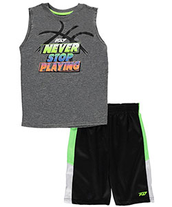 "Pro Athlete Big Boys' ""Winning Ain't Easy"" 2-Piece Outfit (Sizes 8 – 20) - CookiesKids.com"