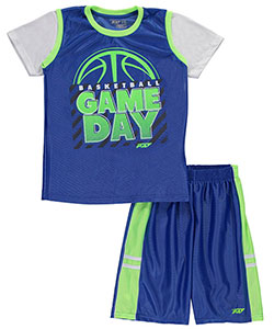 "Pro Athlete Big Boys' ""Game Day"" 2-Piece Outfit (Sizes 8 – 20) - CookiesKids.com"