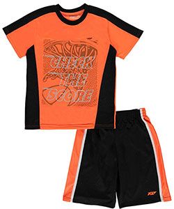 "Pro Athlete Big Boys' ""Check the Score"" 2-Piece Outfit (Sizes 8 – 20) - CookiesKids.com"