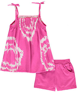 "Angel Face Little Girls' ""Spiralized"" 2-Piece Outfit (Sizes 4 – 6X) - CookiesKids.com"