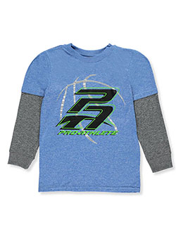 Pro Athlete Big Boys' Performance Slider Shirt (Sizes 8 – 20) - CookiesKids.com