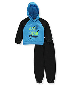 Tuff Guys Big Boys' 2-Piece Fleece Sweatsuit (Sizes 8 – 20) - CookiesKids.com