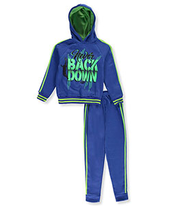 Pro Athlete Big Boys' 2-Piece Fleece Sweatsuit (Sizes 8 – 20) - CookiesKids.com