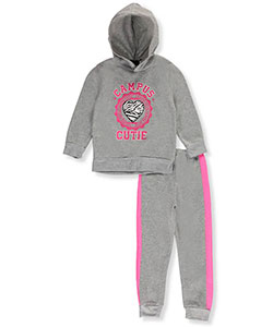 Angel Face Little Girls' Toddler 2-Piece Fleece Sweatsuit (Sizes 2T – 4T) - CookiesKids.com