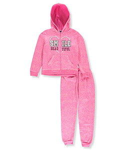 Angel Face Big Girls' 2-Piece Fleece Sweatsuit (Sizes 7 – 16) - CookiesKids.com