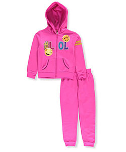 Diva Big Girls' 2-Piece Fleece Sweatsuit (Sizes 7 – 16) - CookiesKids.com