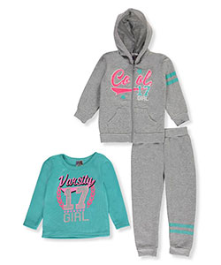 Angel Face Little Girls' 3-Piece Outfit (Sizes 4 – 6X) - CookiesKids.com