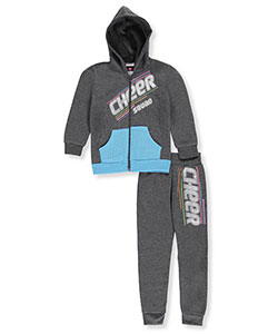 Diva Little Girls' 2-Piece Fleece Sweatsuit (Sizes 4 – 6X) - CookiesKids.com