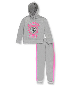 Angel Face Big Girls' 2-Piece Fleece Sweatsuit (Sizes 7– 16) - CookiesKids.com
