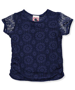 "Dream Girl Little Girls' Toddler ""Sunshower"" Top (Sizes 2T – 4T) - CookiesKids.com"