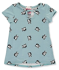 "Dream Girl Little Girls' Toddler ""Panda Party"" Top (Sizes 2T – 4T) - CookiesKids.com"