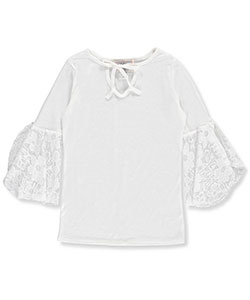 Glitter Girl Big Girls' Top (Sizes 7 – 16) - CookiesKids.com