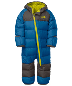 The North Face Baby Boys' Lil' Snuggler Down Suit - CookiesKids.com