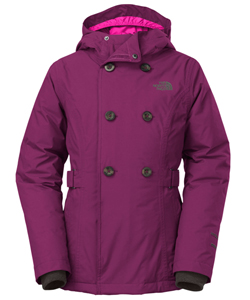 The North Face Big Girls' Chloe Peacoat (Sizes 7S – 20XL) - CookiesKids.com