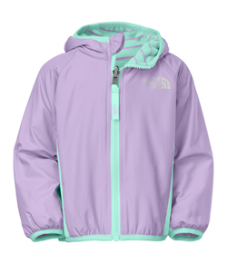 The North Face Baby Girls' Reversible Grizzly Peak Wind Jacket - CookiesKids.com
