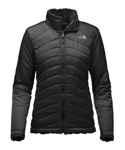 The North Face Women's Mossbud Swirl Reversible Jacket (Sizes S – XL) - CookiesKids.com