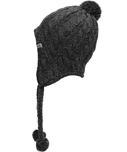 The North Face Women's Fuzzy Earflap Beanie (One Size) - CookiesKids.com