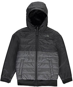 The North Face Big Boys' Reversible Quilted Surgent Hoodie (Sizes 8 – 20) - CookiesKids.com