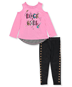Kidtopia Little Girls' Toddler 2-Piece Outfit (Sizes 2T – 4T) - CookiesKids.com