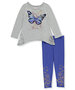 Kidtopia Little Girls' 2-Piece Outfit (Sizes 4 – 6X) - CookiesKids.com