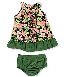 Miniville Baby Girls' Dress with Diaper Cover - CookiesKids.com