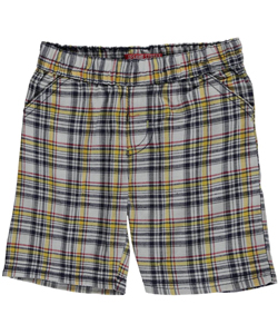 "Sesame Street Baby Boys' ""Checkered Growth"" Shorts - CookiesKids.com"