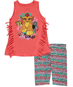 "The Lion King Little Girls' Toddler ""The Lion Guard"" 2-Piece Outfit (Sizes 2T – 4T) - CookiesKids.com"
