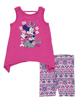 "Minnie Mouse Baby Girls' ""Cute Like Me"" 2-Piece Outfit - CookiesKids.com"