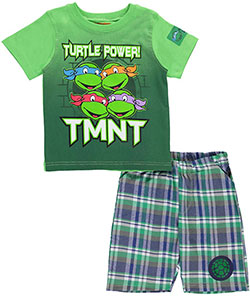 "TMNT Baby Boys' ""Turtle Power"" 2-Piece Outfit - CookiesKids.com"