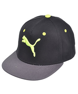 "Puma ""Solid Evercat"" Snapback Cap (Youth One Size) - CookiesKids.com"