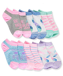 "Limited Too Girls' ""Dream On"" 6-Pack Low-Cut Socks (Sizes 5 – 8.5) - CookiesKids.com"