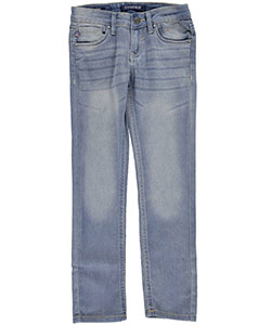 "Vigoss Big Girls' ""Surf Ave."" Skinny Jeans (Sizes 7 – 16) - CookiesKids.com"