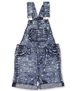 "Vigoss Little Girls' Toddler ""Starlight"" Shortalls (Sizes 2T – 4T) - CookiesKids.com"