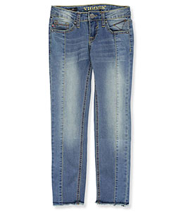 "Vigoss Big Girls' ""Tracked Seams"" Skinny Jeans (Sizes 7 – 16) - CookiesKids.com"