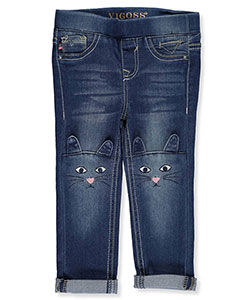 "Vigoss Baby Girls' ""Kitten Fade"" Jeggings - CookiesKids.com"