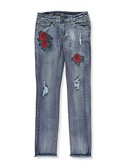 Vigoss Big Girls' Skinny Jeans (Sizes 7 – 16) - CookiesKids.com