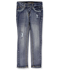 Vigoss Little Girls' Toddler Stretch Skinny Jeans (Sizes 2T – 4T) - CookiesKids.com