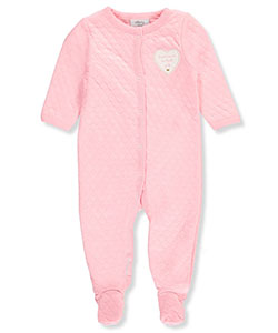 Sterling Baby Baby Girls' Footed Coverall - CookiesKids.com