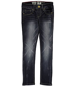 "#VIP Jeans Big Girls' ""Streaked Fade"" Jeans (Sizes 7 – 16) - CookiesKids.com"
