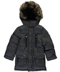 "J. Whistler Big Boys' ""Expeditionary"" Insulated Jacket (Sizes 8 – 20) - CookiesKids.com"