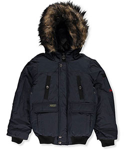 J. Whistler Little Boys' Insulated Jacket (Sizes 4 – 7) - CookiesKids.com