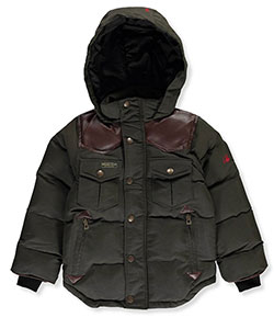 J. Whistler Big Boys' Insulated Parka (Sizes 8 – 20) - CookiesKids.com