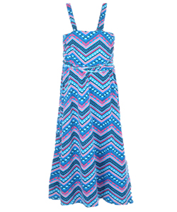 "Chillipop Big Girls' ""Watercolor Pueblo"" Sundress (Sizes 7 – 16) - CookiesKids.com"