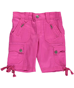 "Shampoo Little Girls' Toddler ""Precious Cargo"" Bermuda Shorts (Sizes 2T – 4T) - CookiesKids.com"