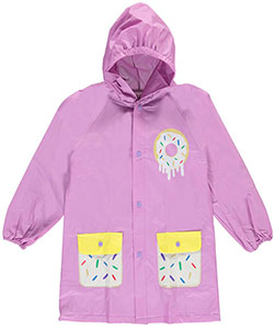 "Lilly New York Big Girls' ""Sweet Sprinkles"" Rain Jacket (Sizes 7 – 16) - CookiesKids.com"